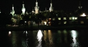Hillsborough River at Night (Tampa)