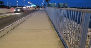 Tampa Causeway Sidewalk