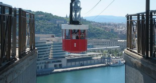 Aerial Cable Car - Barcelona