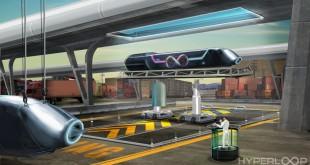 Hyperloop Pod In Dock - Small