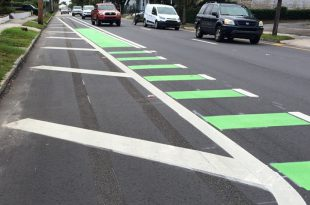 green-bike-lane