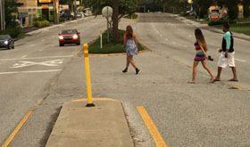 Pedestrians Crossing at Mid-Block (ESRP)