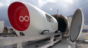 Virgin Hyperloop Vehicle